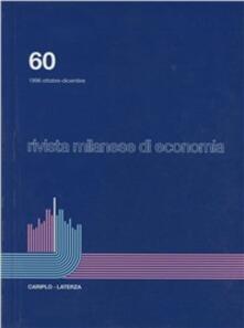 Nordestcaffeisola.it Rivista milanese di economia. Vol. 60 Image