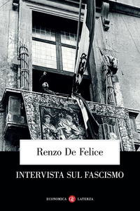 Libro Intervista sul fascismo Renzo De Felice