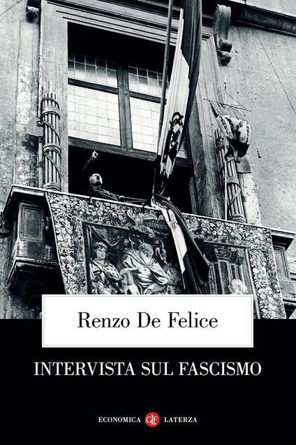 Intervista sul fascismo - Renzo De Felice - copertina
