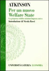 Per un nuovo welfare state. La proposta reddito minimo/imposta unica