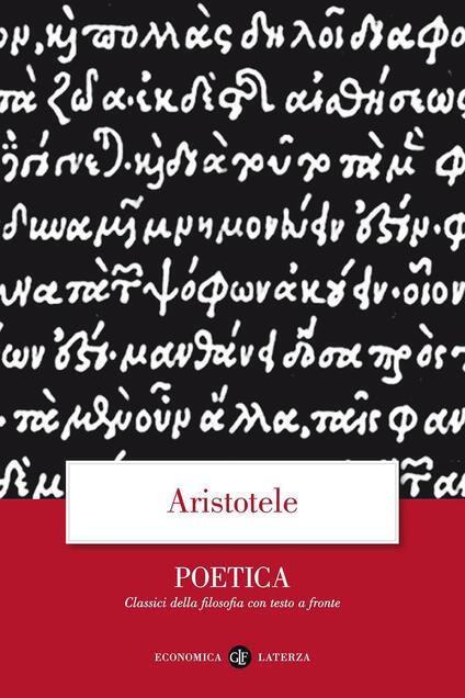 Poetica. Testo greco a fronte - Aristotele - copertina