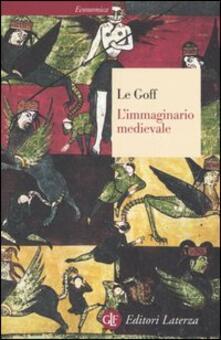 L' immaginario medievale - Jacques Le Goff - copertina