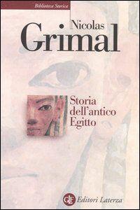 Libro Storia dell'antico Egitto Nicolas Grimal