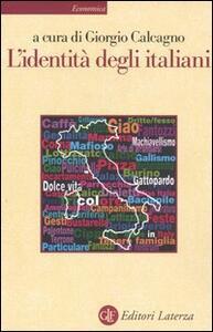 L' identità degli italiani