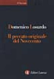 Grandtoureventi.it Il peccato originale del Novecento Image