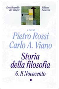Storia della filosofia. Vol. 6\1: Il Novecento.