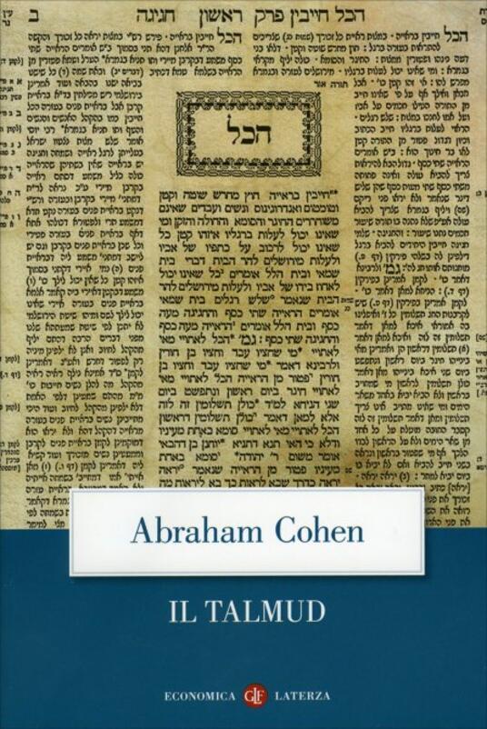 Il Talmud - Abraham Cohen - copertina