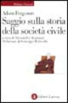 Promoartpalermo.it Saggio sulla storia della società civile Image