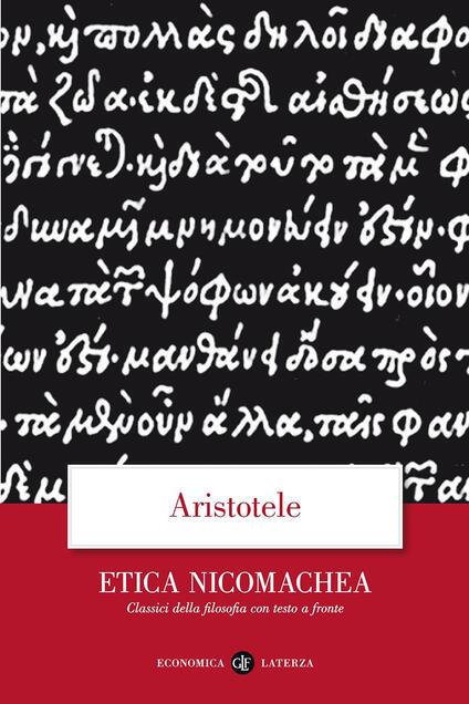 Etica Nicomachea. Testo greco a fronte - Aristotele - copertina