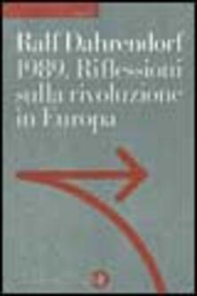 Ristorantezintonio.it 1989. Riflessioni sulla rivoluzione in Europa. Lettera immaginaria a un amico di Varsavia Image