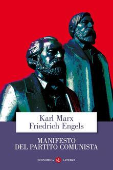 Il manifesto del Partito Comunista - Karl Marx,Friedrich Engels - copertina