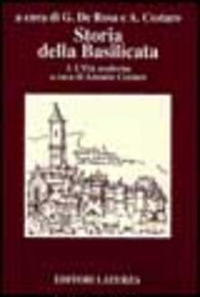 Mercatinidinataletorino.it Storia della Basilicata. Vol. 3: L'Età moderna. Image