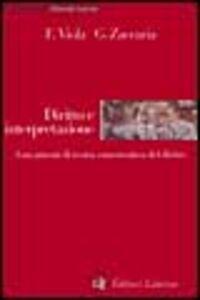 Libro Diritto e interpretazione. Lineamenti di teoria ermeneutica del diritto Francesco Viola , Giuseppe Zaccaria