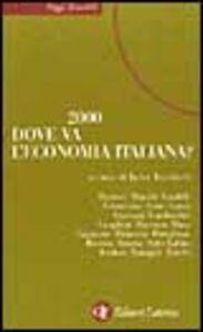 Libro 2000. Dove va l'economia italiana? Jader Jacobelli