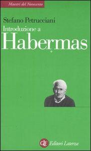 Libro Introduzione a Habermas Stefano Petrucciani