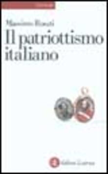 Il patriottismo italiano. Culture politiche e identità nazionali.pdf