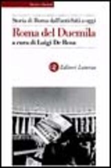 Voluntariadobaleares2014.es Storia di Roma dall'antichità a oggi. Roma del Duemila Image