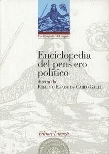 Tegliowinterrun.it Enciclopedia del pensiero politico Image