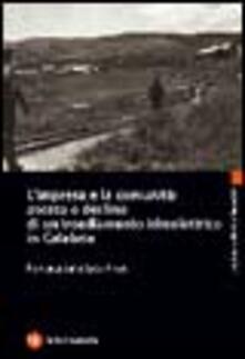 Ristorantezintonio.it L' impresa e la comunità: ascesa e declino di un insediamento idroelettrico in Calabria Image