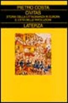 Promoartpalermo.it Civitas. Storia della cittadinanza in Europa. Vol. 2: L'Età delle rivoluzioni. Image