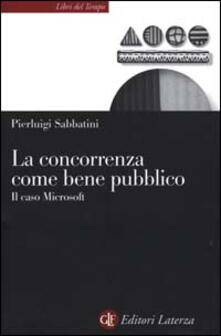 La concorrenza come bene pubblico. Il caso Microsoft