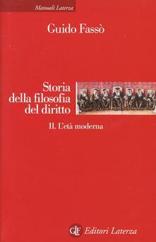Squillogame.it Storia della filosofia del diritto. Vol. 2: L'età moderna. Image