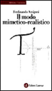 Libro Il modo mimetico-realistico Ferdinando Amigoni