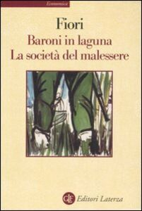 Libro Baroni in laguna-La società del malessere Giuseppe Fiori
