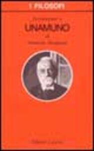 Libro Introduzione a Unamuno Armando Savignano