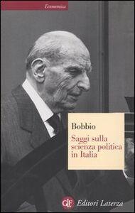 Libro Saggi sulla scienza politica in Italia Norberto Bobbio