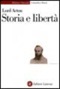 Storia e libertà