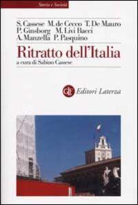 Foto Cover di Ritratto dell'Italia, Libro di  edito da Laterza