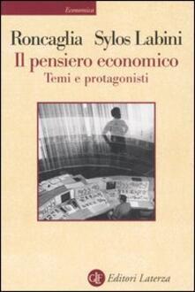 Il pensiero economico. Temi e protagonisti.pdf