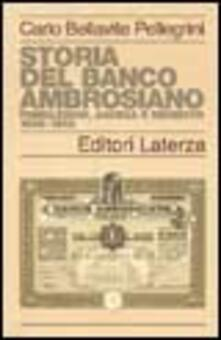 Ascotcamogli.it Storia del Banco Ambrosiano. Fondazione, ascesa e dissesto 1896-1982 Image