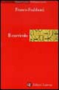 Libro Il curricolo Franco Frabboni