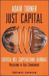 Just Capital. Critica del capitalismo globale