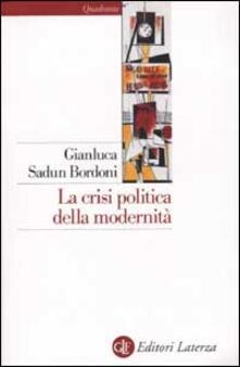 Filippodegasperi.it La crisi politica della modernità Image