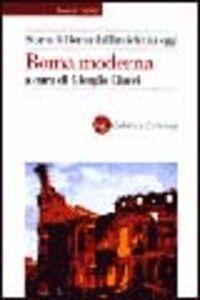 Foto Cover di Storia di Roma dall'antichità a oggi. Roma moderna, Libro di  edito da Laterza