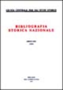 Bibliografia storica nazionale (1999). Vol. 61