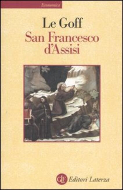 San Francesco d'Assisi - Jacques Le Goff - copertina