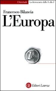 Libro L' Europa Francesco Bilancia