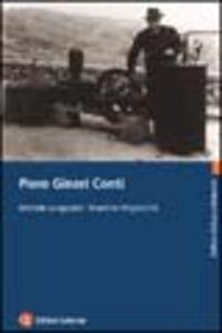 Foto Cover di Piero Ginori Conti, Libro di Michele Lungonelli,Martina Migliorini, edito da Laterza