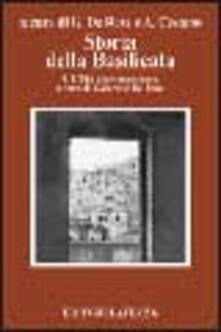 Capturtokyoedition.it Storia della Basilicata. Vol. 4: L'età contemporanea. Image