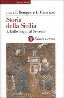 Tegliowinterrun.it Storia della Sicilia. Vol. 1: Dalle origini al Seicento. Image