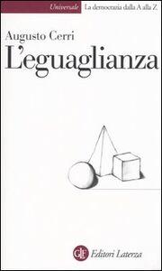 Libro L' eguaglianza Augusto Cerri