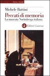 Copertina  Peccati di memoria : la mancata Norimberga italiana