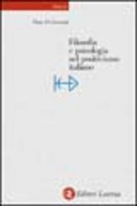 Libro Filosofia e psicologia nel positivismo italiano Piero Di Giovanni
