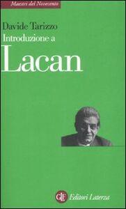 Libro Introduzione a Lacan Davide Tarizzo