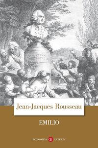 Foto Cover di Emilio, Libro di Jean-Jacques Rousseau, edito da Laterza