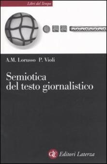 Premioquesti.it Semiotica del testo giornalistico Image